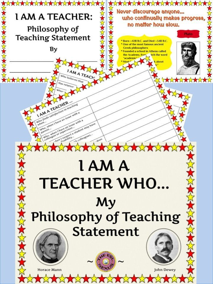 70 best teaching philosophy images on Pinterest School, Teacher - best of 8 child care philosophy statement examples