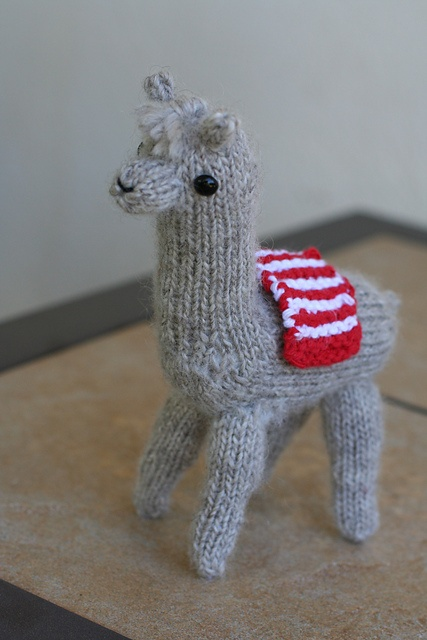 Knitted Goat Pattern And Toy Natural Suburbia Fiber Arts