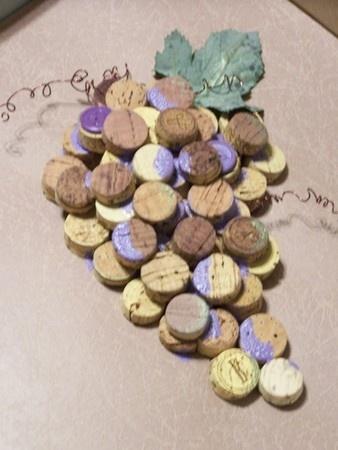using corks for art or trivets