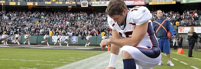 CONVICTIONS AND CONVERSATION - tim-tebow-tebowing......