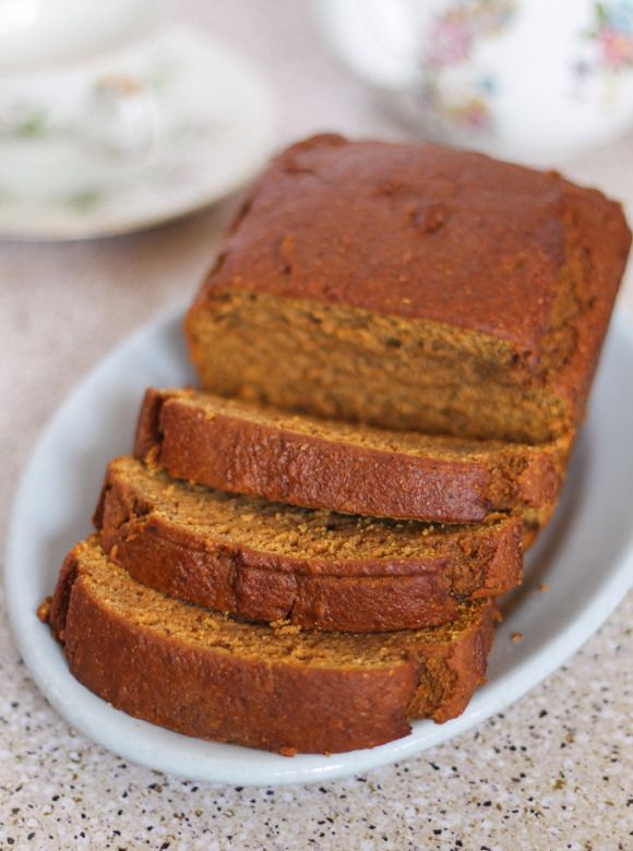 Vegan Pumpkin Bread:  Wheat-free, Corn-free, Egg-free, Dairy-free.  Vegan