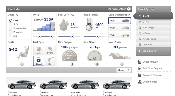 Hyundai Motor Global Website by Min , via Behance