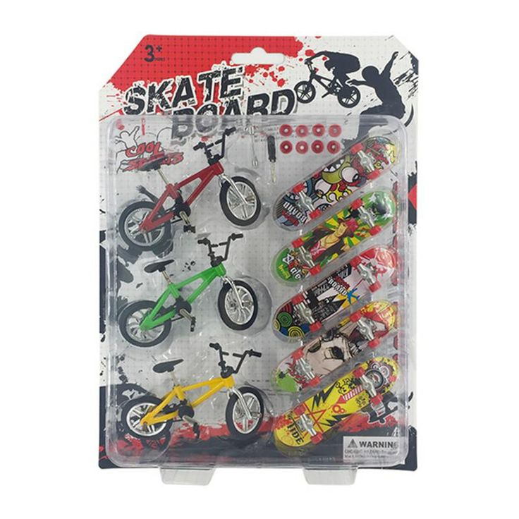 Mini Finger Bmx Bike Kids Toys Thumb Finger Skateboard Professional Cycling Mini Fingerboard Toys for Children Christmas Gifts