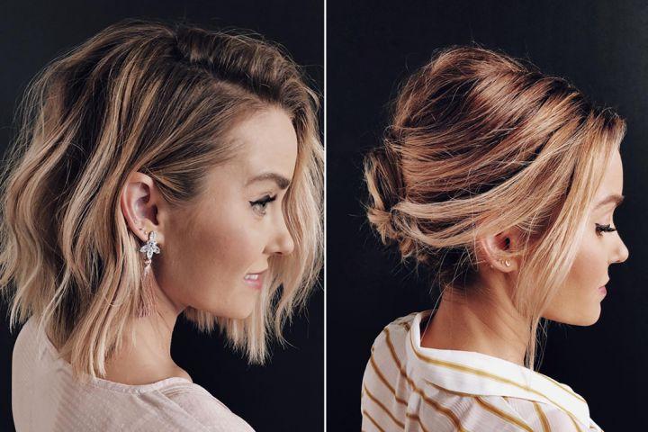 COIFFURE: voilà comment réaliser un chignon quand on a les cheveux courts
