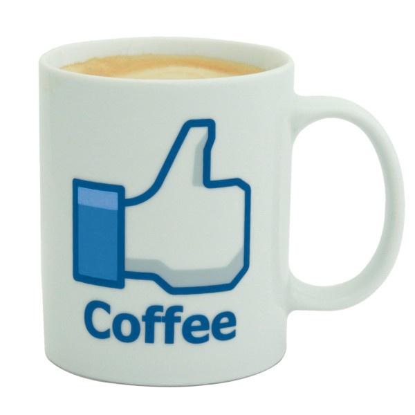 La tazza è un'idea regalo originale per coloro a cui piace prendere il caffè mentre sono al lavoro (e non solo). Il design è ispirato al famoso pollice di Facebook.. Se sei un appassionato del caffè questa è la tua tazza.