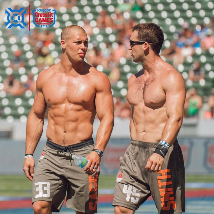 Cole Sager and Ben Smith. CrossFit and Progenex Athletes ...