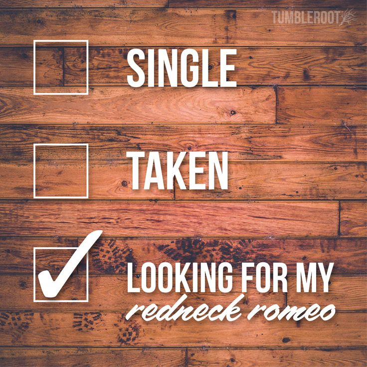 TumbleRoot always has an eye out for redneck romeos! :)  // tumbleroot.com