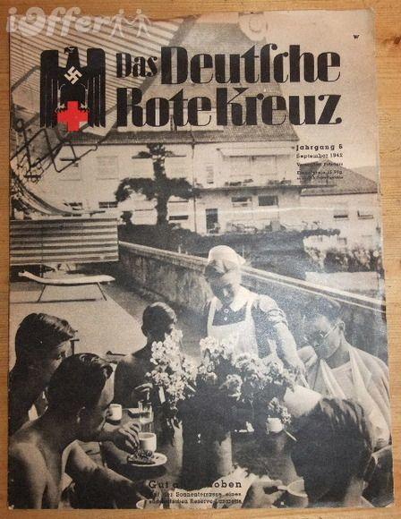 WWII German Magazine Das Deutsche Rote Kreutz No.9 1942