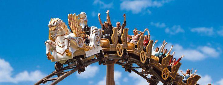 ★ Viziteaza parcurile de distractie din Europa - Portaventura, Legoland, Europa Park, Gardaland, Asterix, Vialand!