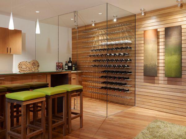 Weinkeller gestalten  Die besten 25+ Glas Weinkeller Ideen auf Pinterest | Wein-Auslage ...