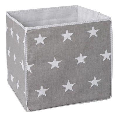 Little Stars Fabric Storage: 2 colour choices