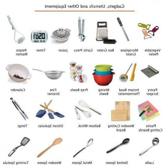 Frische Küche Geräte Namen In Der Küche Und Küchengeräte ...