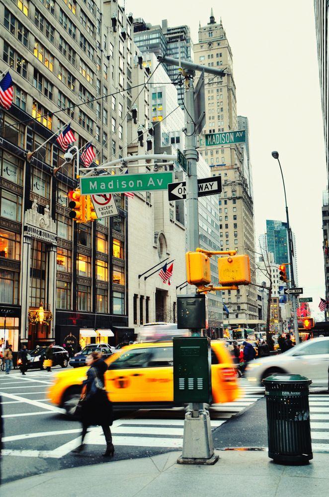 Madison Avenue, NYC.