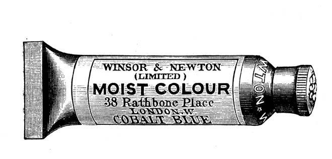 1901 Winsor and Newton tube