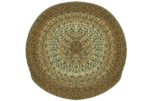 Texas - Sage - Round Braided Rug : For the home ...