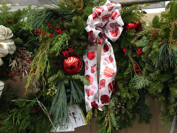 Blomidon nurseries made custom wreath