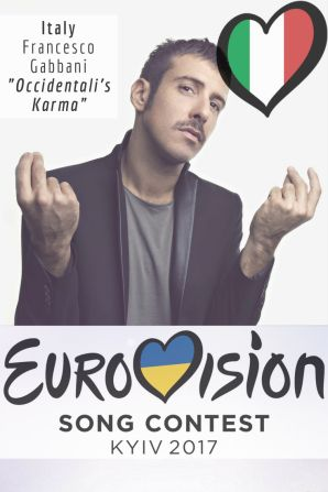 "Eurovision Song Contest 2017: Italy - ""Occidentali's Karma"" By Francesco Gabbani"