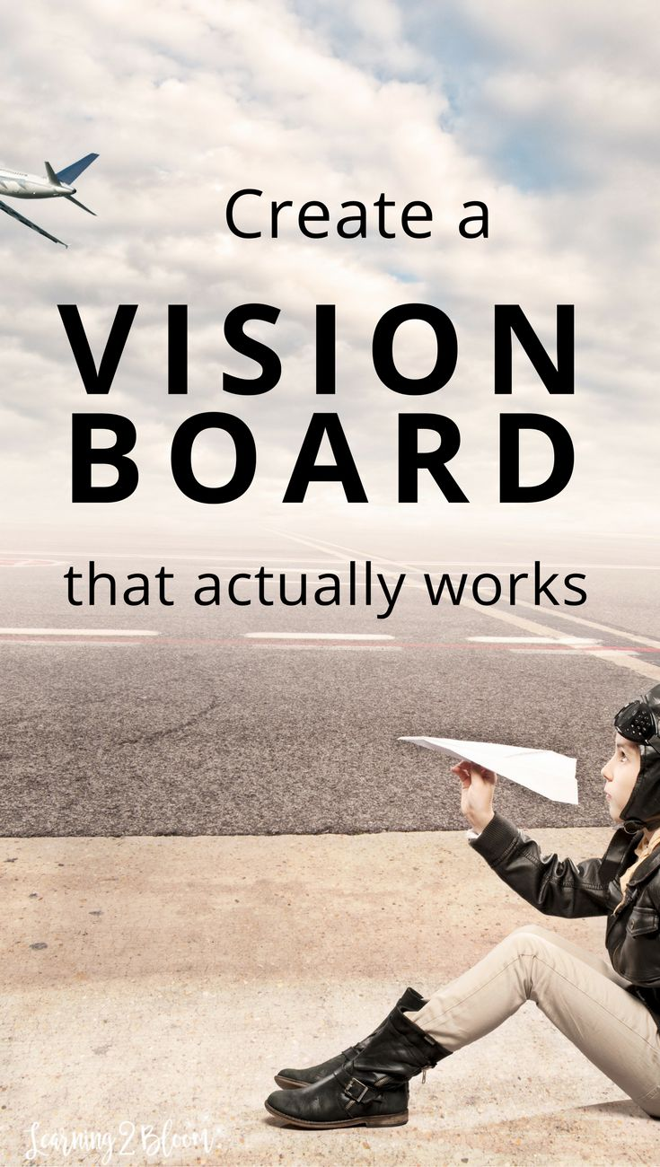 Create your own diy vision board that actually works. Have you ever created a vision board? Vision boards can be very personal. They can help you visualize what you want in order to achieve your dreams.Check out this guide that will help you make your own personal vision board and lead you to the future of your dreams.
