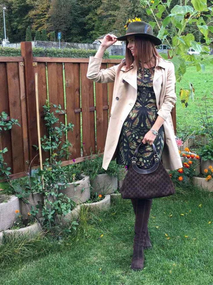 OUTFIT: SFUMATURE AUTUNNALI #ootd #guccibag #trench