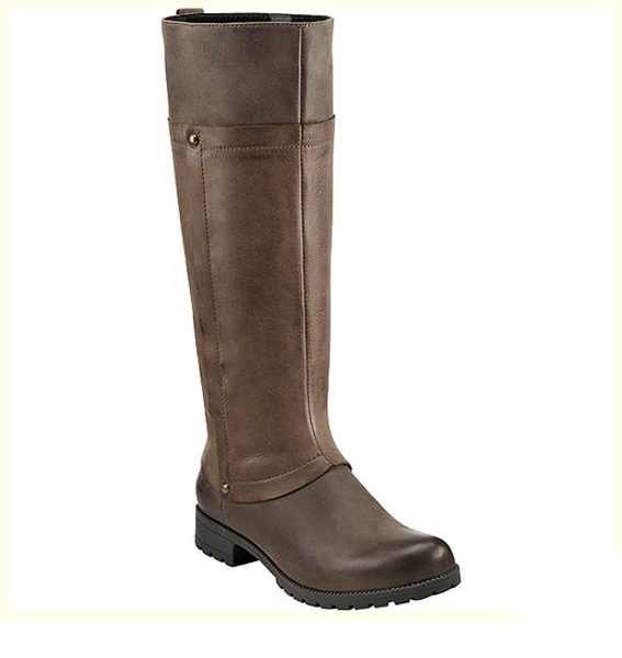 Sometimes you just want to kick up your heels, and with the Clarks Neeve  Ella women's knee high riding boot it's entirely possible!