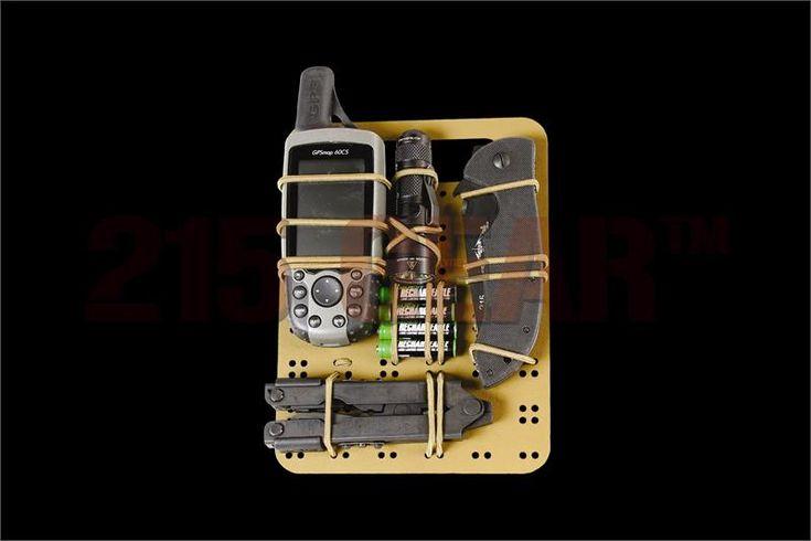 6 x 8 GP Insert, Kydex® elastic gear organizer