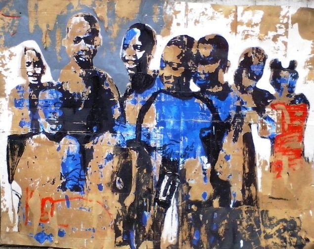 <Em> Foule d'Enfants </ em>, 2014