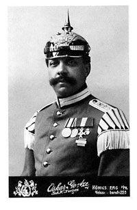Black German Soldier in WW1