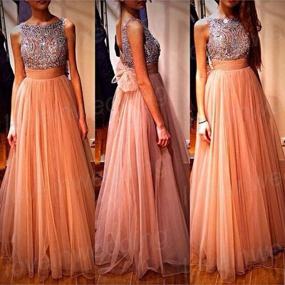 Long Prom Dress,Vintage Prom Dress,Custom Made Beaded Prom Dress,Girls Pageant/Graduation Dress,Long Bridesmaid Dress,Long Evening Dress on Etsy, $179.00