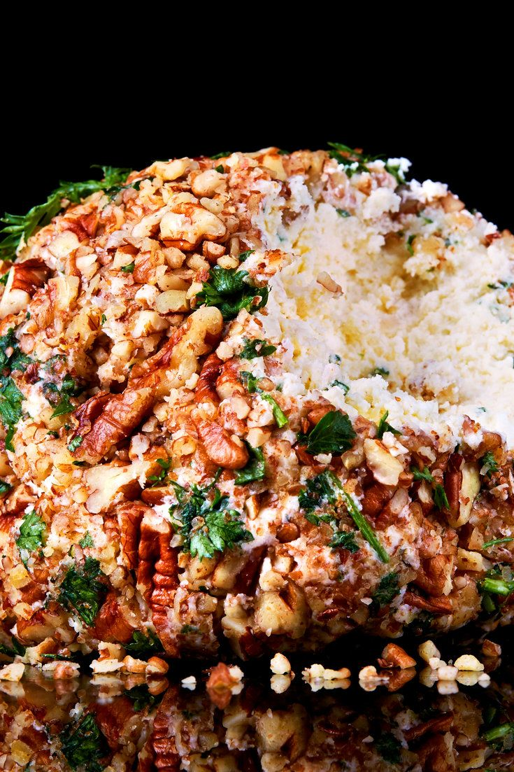 The cheese ball is a stalwart of the Midwest cocktail party, where it can be fashioned from processed Cheddar cheese and port wine, or pineapple and cream cheese. This recipe relies on the leftover ends of good cheese or even just one kind of good-quality, sharp cheese like Gruyère. (Photo: Jessica Emily Marx for The New York Times)