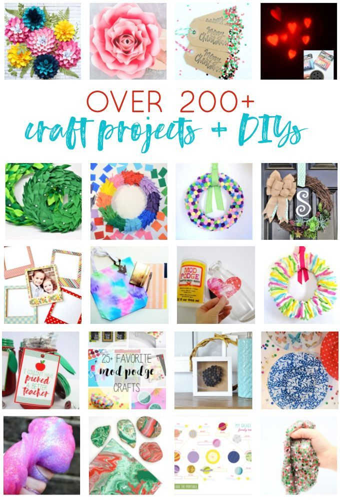 Craft Projects Diy Kids Crafts Slime Recipes Wreaths Easy