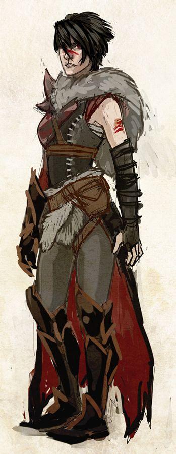 lady hawke by ~kreugan on deviantART