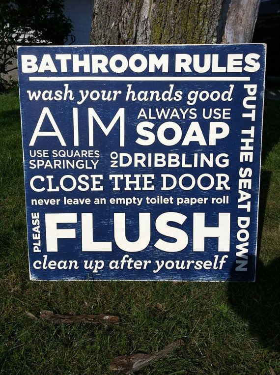 For the bathroom!