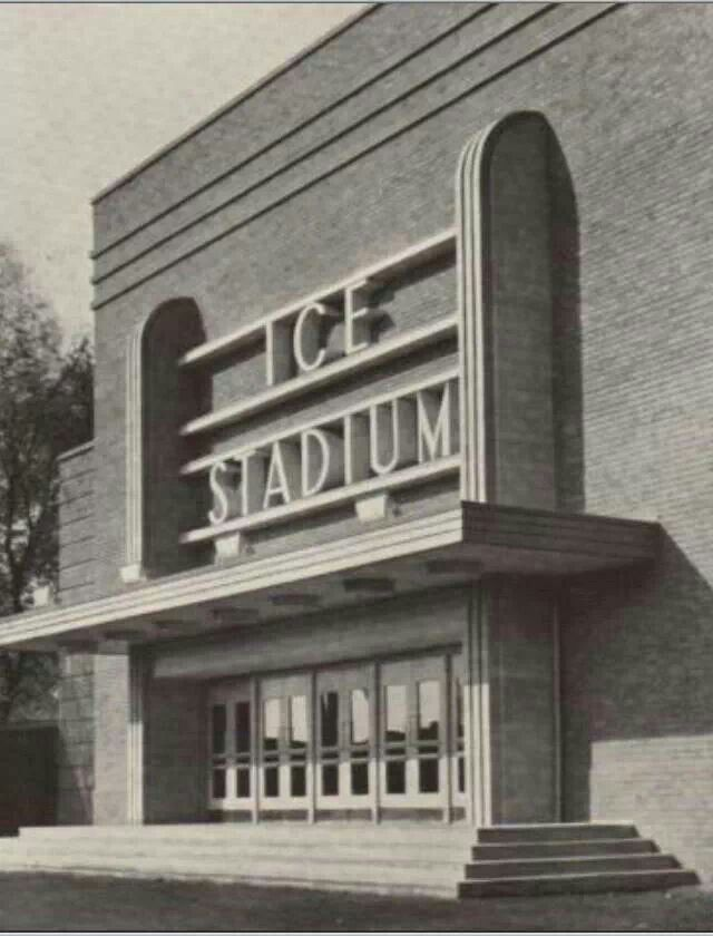 Original Nottingham Ice Stadium where Torvill and Dean started their Ice Dancing Careers- with a grant from Nottingham Council.