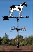 paint horse weathervanes for rooftops, cupolas, or gardens, free shipping on all paint horse weathervanes.