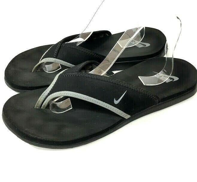 Nike Celso Mens Flip Flop Sandals Black Gray Size 11 M 45 ...