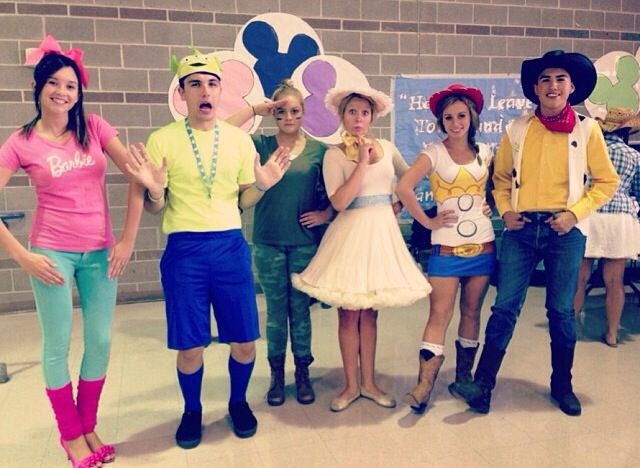 The Cast of Toy Story Costumes
