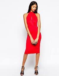 Znalezione obrazy dla zapytania czerwona sukienka torebka buty