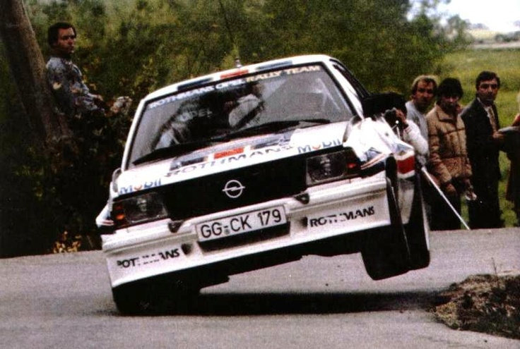 Henri Toivonen! He also drived another Opel Ascona 400 with the plate GG-CJ 649!! This picture is from Rali de Portugal, 1982...