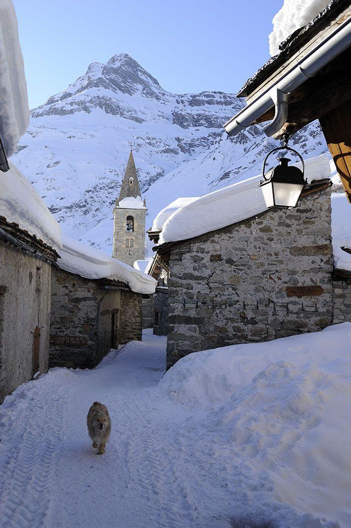 ~Bonneval -sur-Arc - Savoie - Alpes~ via #BlogVacances #Montagnes #neiges by www.vacance-scolaire.fr