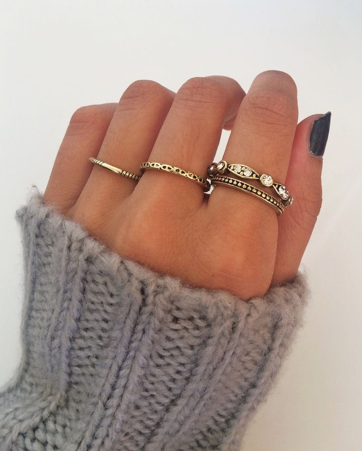 Gold Stack Rings (includes 4 rings)  *FREE POSTAGE AUSTRALIA WIDE*  ~ Gold-plated ring band (alloy metal) ~ Boho inspired ~ Inner diameter: 1.70 - 1.80 cm  Follow our Instagram to be the first to hear about new arrivals and sales:  @northerndash  PRODUCT CARE  To ensure that your Northern Dash ring lasts as long as possible, please  handle it with care and refrain from wearing it in water/whilst exercising.