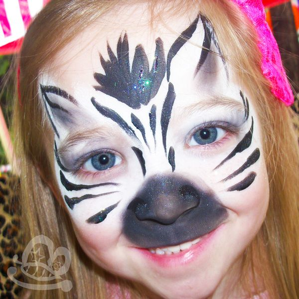 Pictures Of Zebra Face Painting Ideas Kidskunst Info