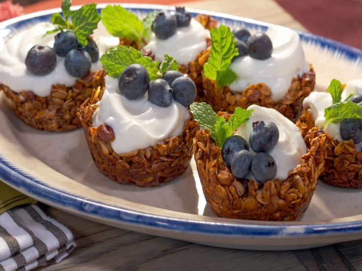 Granola Parfait Cups recipe from Nancy Fuller via Food Network