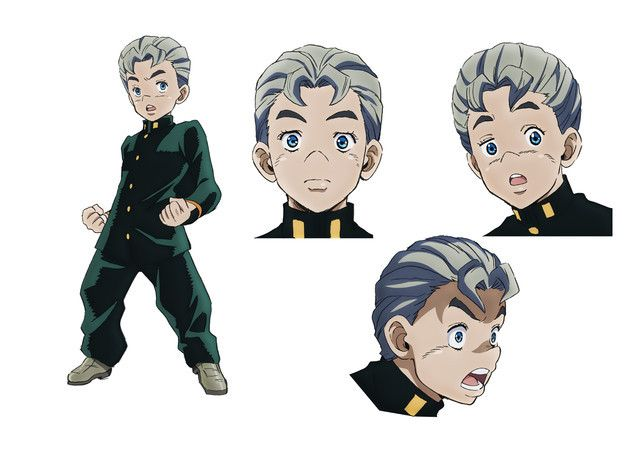 Jojo S Bizarre Adventure Diamond Is Unbreakable Character Designs And Theme Song Performer Announcement Posted Jojo S Bizarre Adventure Characters Jojo S Bizarre Adventure Jojo Bizarre
