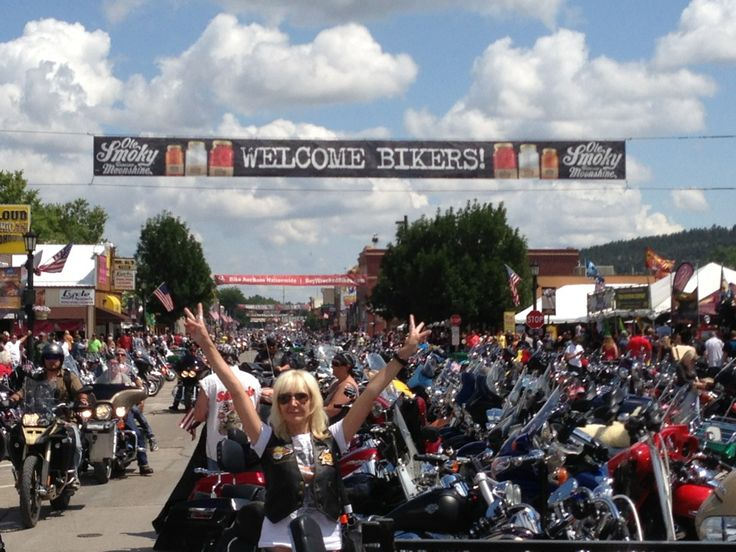 The one and only Sturgis Motorcycle Rally- celebrating 74 years in 2014.  Sturgis, SD in South Dakota  #Harley-Davidson #Harley  #Tourrest