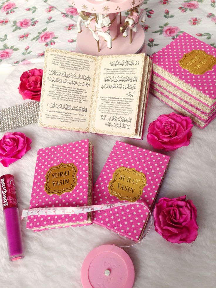 Mini yasin ( the pink polkadot series )
