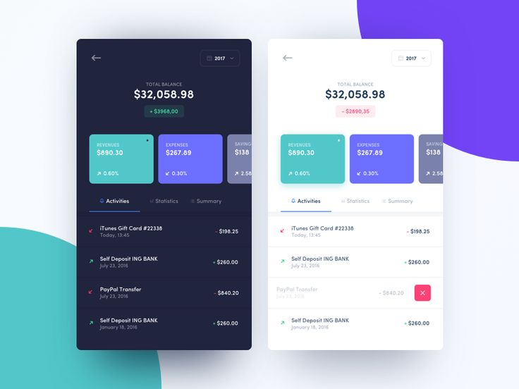 Hi guys,    I'd like to show you my concept work - wallet app.  This shot is made just for fun.    Thanks for watching!