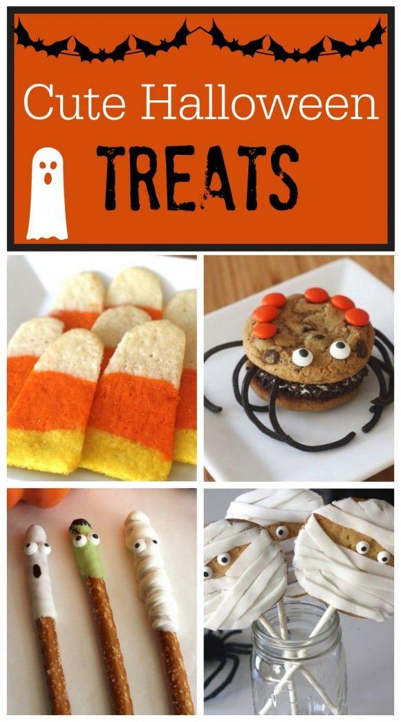 Cute halloween treats kid halloween ideas and halloween for Easy halloween treats for work party