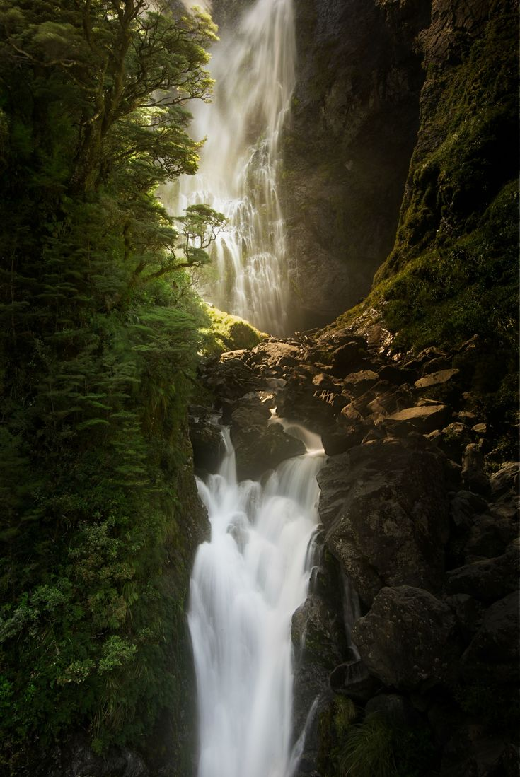 Real-Life Rivendell in Arthurs Pass National Park, New Zealand