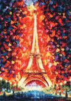 Набор для вышивания крестом Золотое Руно ГМ-025 (Ночной Париж)