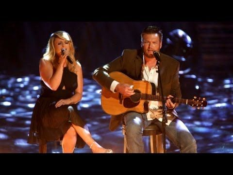 "Blake Shelton wrote this song ""Over You,"" in memory of his brother that lost his life in a car accident. Miranda sings this as Blake said it is too emotional for him to sing it, and that emotion is so apparent as they appear onstage together. What a beautiful song packed with so much meaning. No wonder the room was filled with tears."